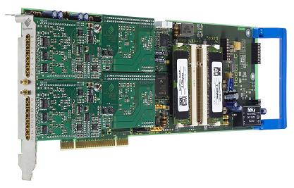 m2i4641 4 channel 1MS/s board image