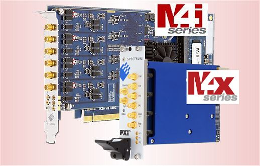 m4i digitizer card PCIe-x8 lane