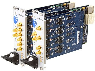 Link to information on the PXIe series of signal capture cards