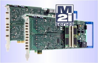 M2i digitizer cards PCI and PCIe formats
